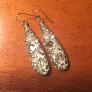 Alexis Bittar Shimmer Dust Drop Earrings